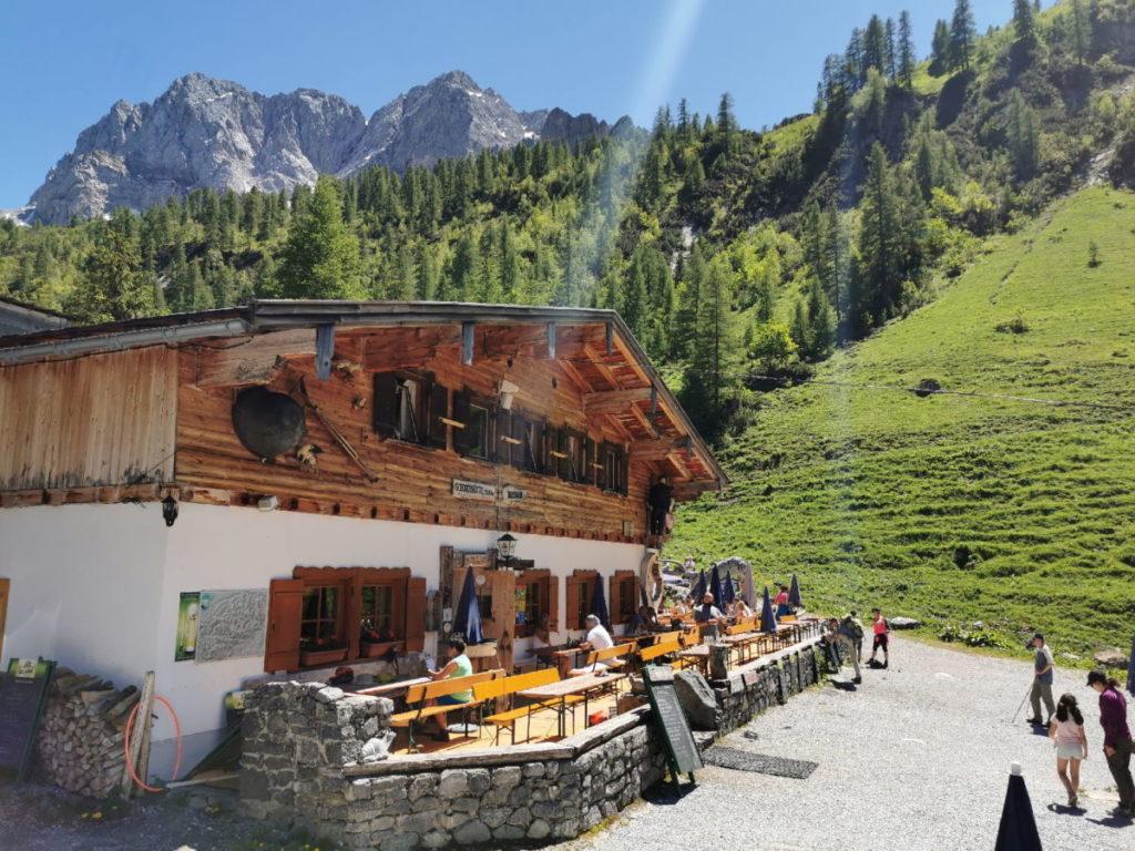 Das ist die Binsalm im Karwendel