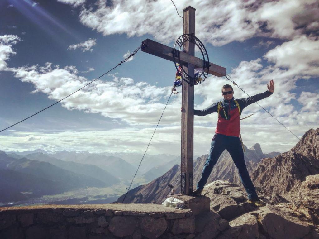 Ausflug auf einen Gipfel: Die Hafelekarspitze im Karwendel