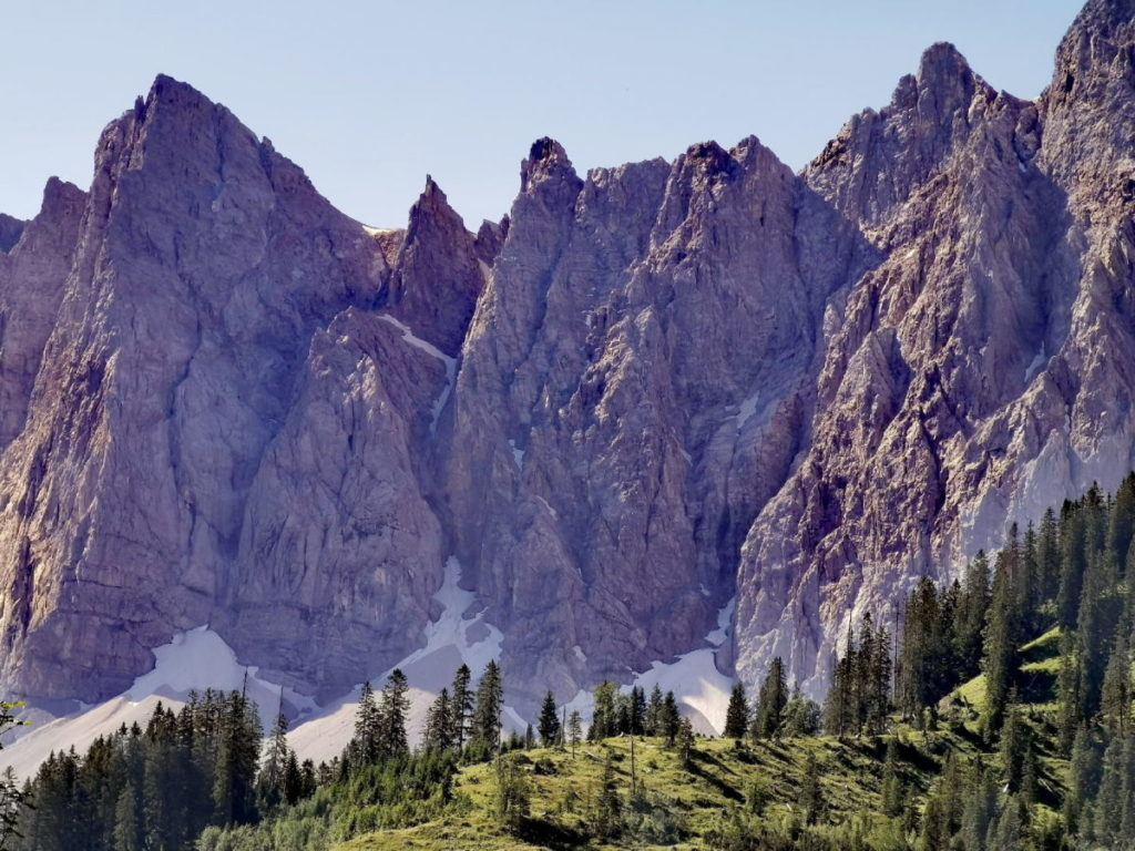 Das imposante Karwendel