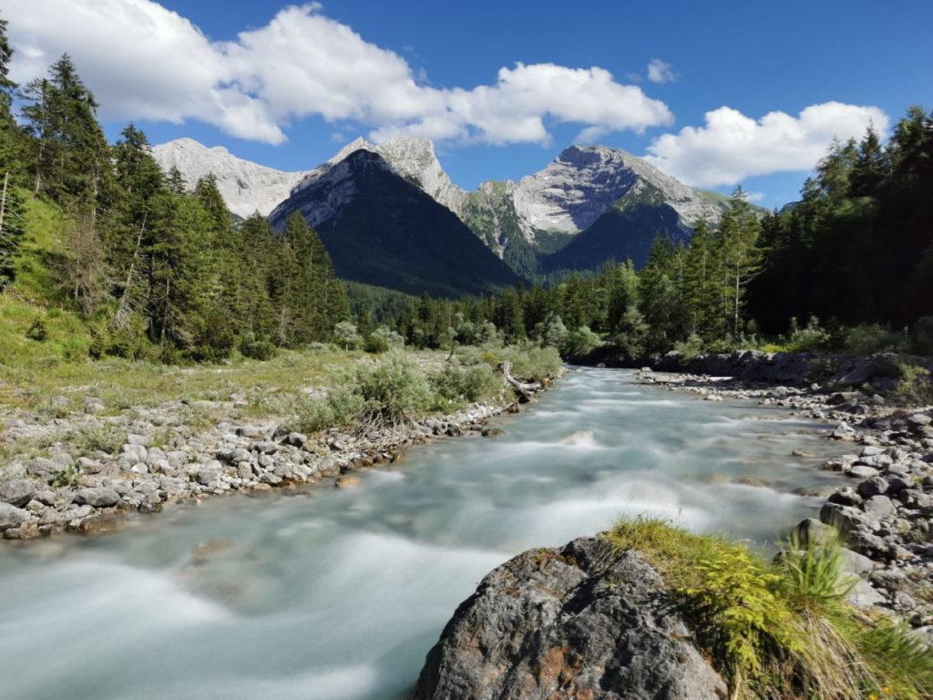 Ich mag den rauschenden Rissbach im Karwendel